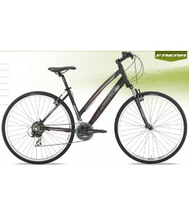 BICI FRERA HYBRID CROSSTOURTING 21 SPEED DONNA TOURNEY 21V ZOOM CH-141 V-BRAKE MISURE DONNA 44