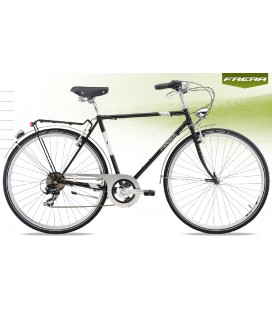 BICI FRERA CITY BIKE SPARK 7 SPEED UOMO TOURNEY 7V RIGIDA V-BRAKE MISURE UOMO 52 56