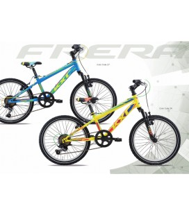 "BICI FRERA KIDS KIGAN 24"" TOURNEY 18/S ZOOM CH-327 V-BRAKE MISURE 34"